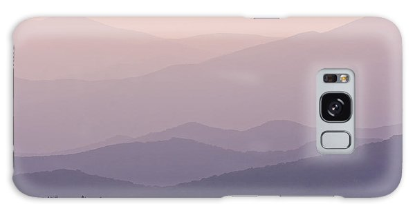 Smoky Mountain Sunset Galaxy Case