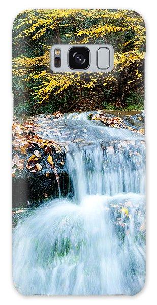 Smoky Mountain Waterfall Galaxy Case