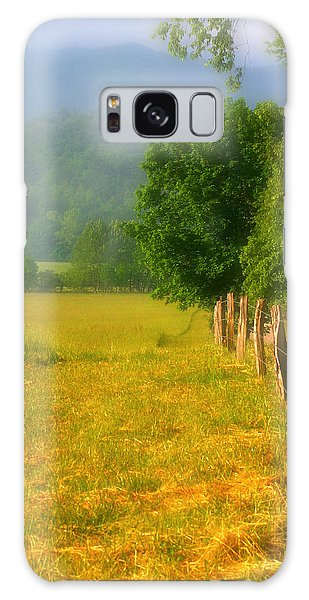 Smoky Mountains Cades Cove Galaxy Case by Cindy Haggerty