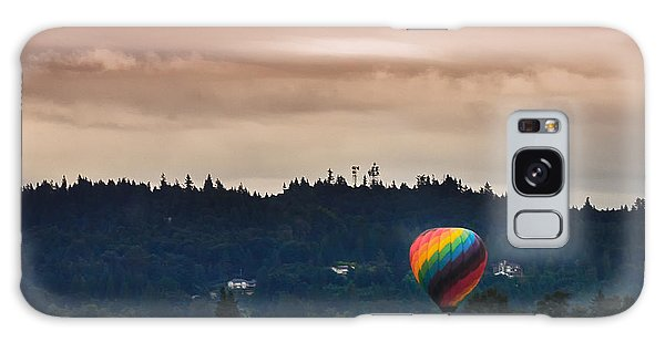 Snohomish Baloon Ride Galaxy Case