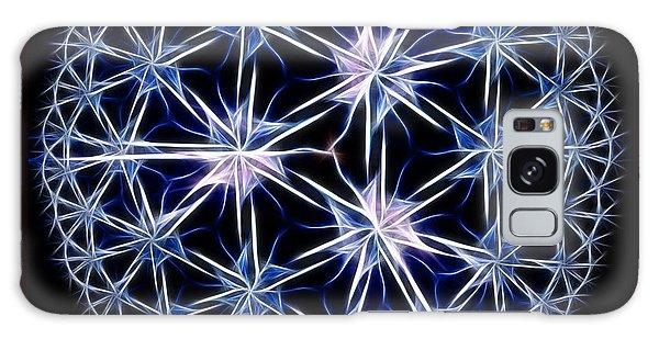 Snowflakes Galaxy Case by Danuta Bennett