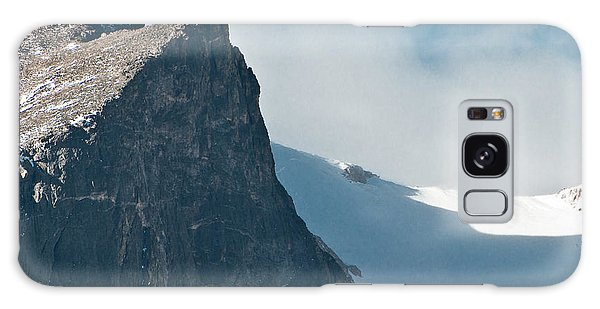 Snowy Flatirons Galaxy Case by Colleen Coccia