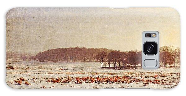 Snowy Landscape Galaxy Case by Lyn Randle
