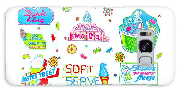 Soft Serve Galaxy Case by Beth Saffer
