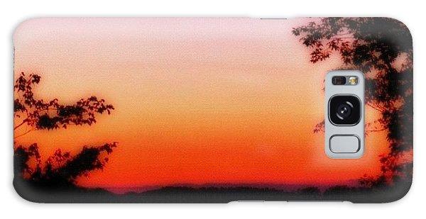 Edit Galaxy Case - Soft Sunset In The Smokies by Mari Posa