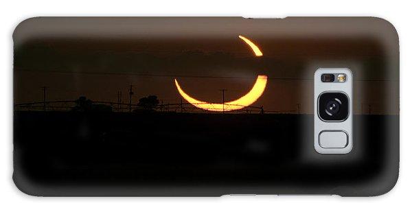 Solar Eclipse In Lubbock Texas Galaxy Case