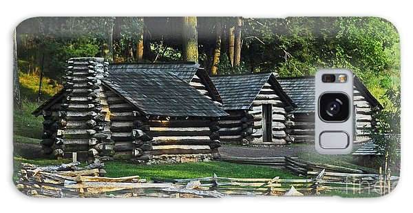 Soldiers Quarters At Valley Forge Galaxy Case by Cindy Manero