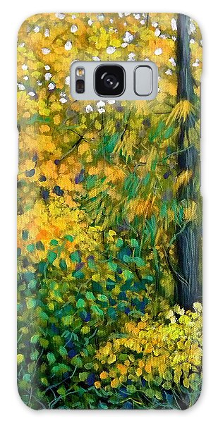 Southern Woods Galaxy Case by Jeanette Jarmon