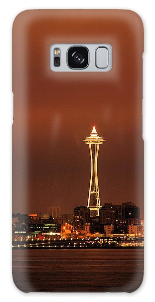 Space Needle Morning Galaxy Case
