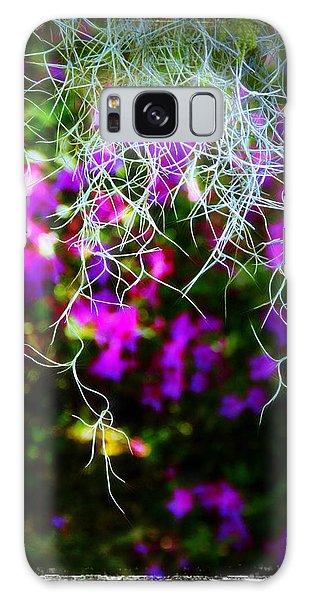 Spanish Moss And Azaleas Galaxy Case by Judi Bagwell