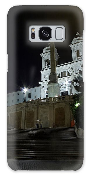 Spanish Steps At Night Galaxy Case