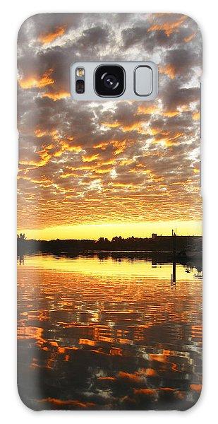 Spectacular Mazatlan Sunset Galaxy Case by Anne Mott
