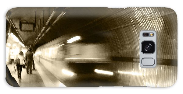 Speeding Train Galaxy Case