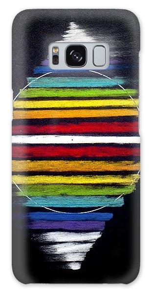 Spinning Merkaba Galaxy Case