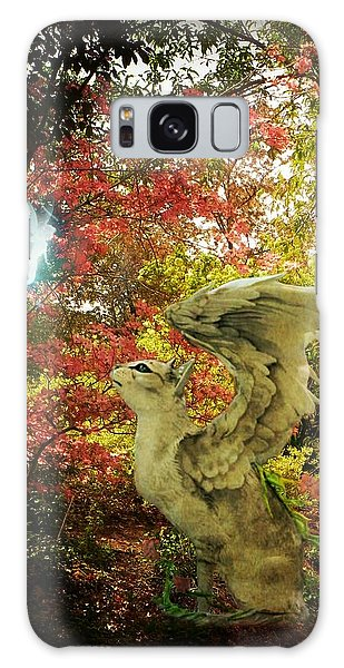Spring Companions Galaxy Case by Leah Moore
