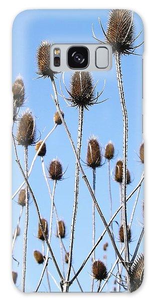 Spring Weeds 2 Galaxy Case by Gerald Strine