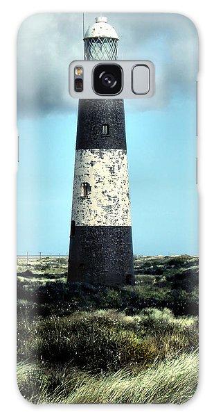 Spurn Point Lighthouse Galaxy Case