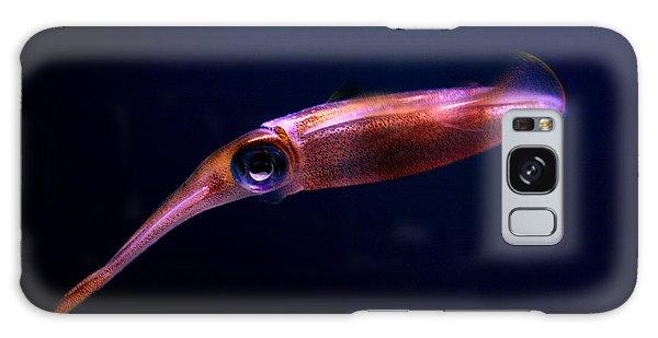 Squid In Pink Galaxy Case