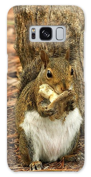 Squirrel On Shrooms Galaxy Case