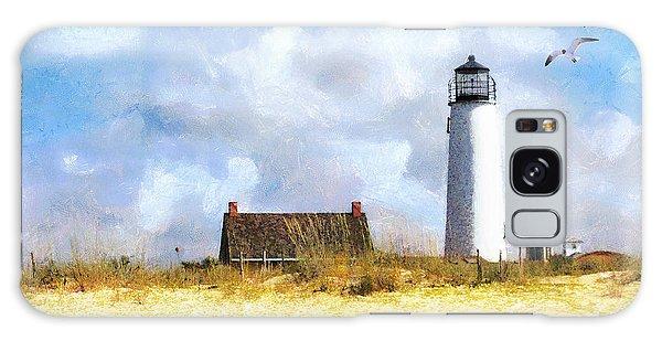 St. George Island Lighthouse Galaxy Case