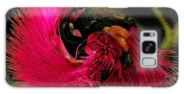 St Kitts Flora Galaxy Case by Cindy Manero