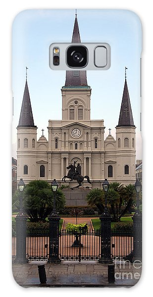 St Louis Cathedral On Jackson Square In The French Quarter New Orleans Galaxy Case