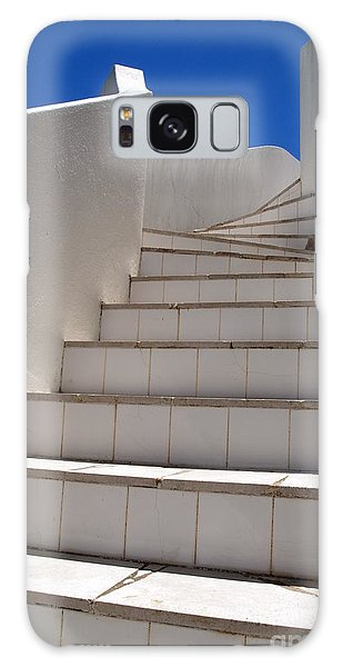 Stair To The Sky Galaxy Case by Michael Canning