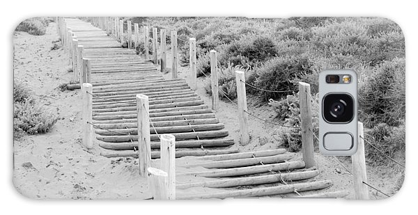 Stairs At Baker Beach Galaxy Case