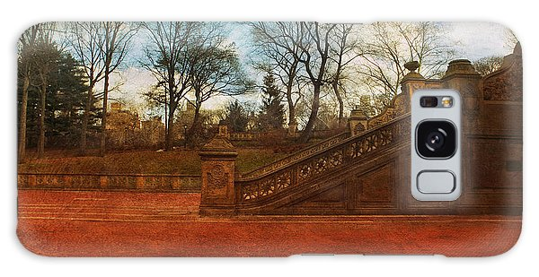 Stairway In Central Park Galaxy Case
