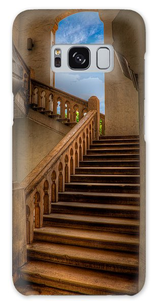 Banister Galaxy Case - Stairway To Heaven by Adrian Evans