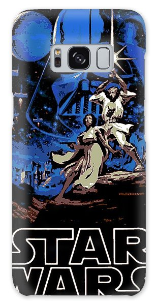 Star Wars Poster Galaxy Case