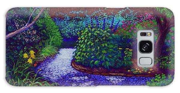 Southern Garden Galaxy Case by Jeanette Jarmon