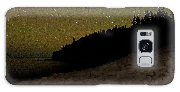 Stars Over Otter Cliffs Galaxy Case by Brent L Ander