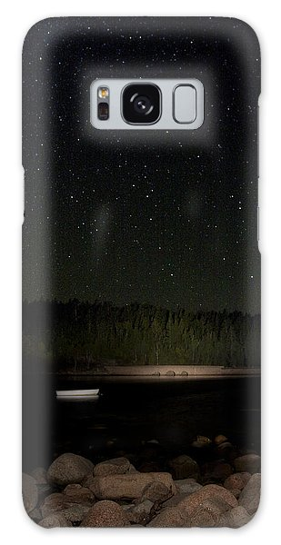 Stars Over Otter Cove Galaxy Case by Brent L Ander