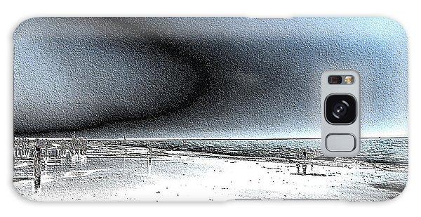 Steel Beach Galaxy Case