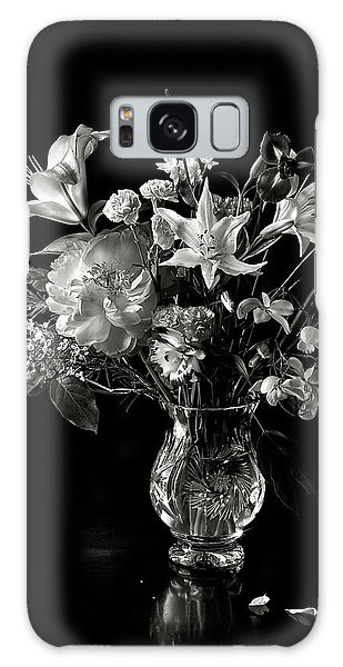 Still Life In Black And White Galaxy Case