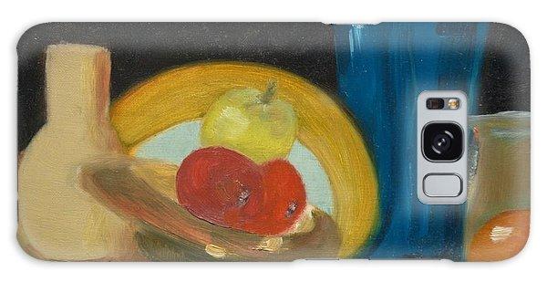 Still Life Of Fruit Galaxy Case