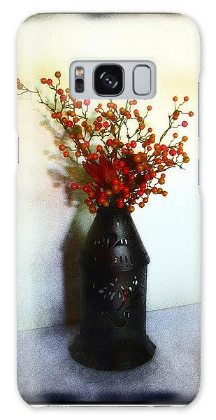 Still Life With Berries Galaxy Case by Judi Bagwell