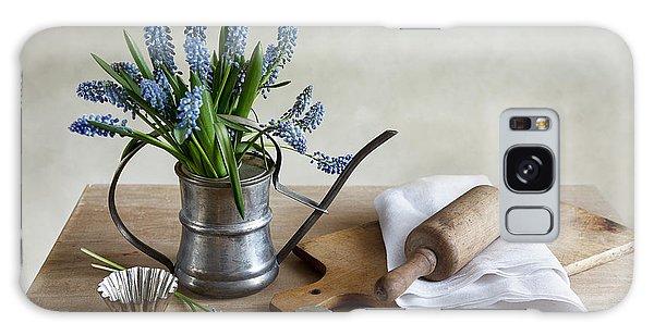Antique Galaxy Case - Still Life With Grape Hyacinths by Nailia Schwarz