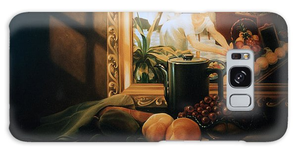 Still Life With Hopper Galaxy Case by Patrick Anthony Pierson