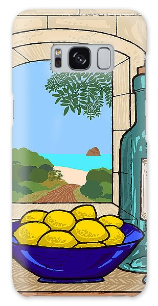 Still Life With Lemons Galaxy Case