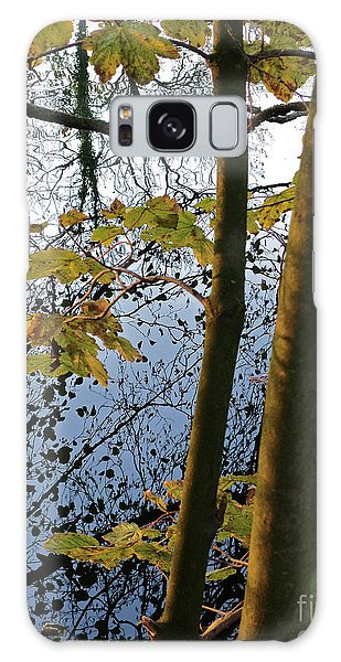 Still Waters In The Fall Galaxy Case by Andy Prendy