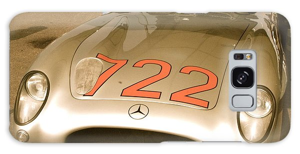 Stirling Moss 1955 Mille Miglia 722 Mercedes Galaxy Case by John Colley