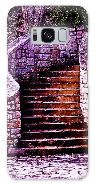 Stone Staircase Galaxy Case