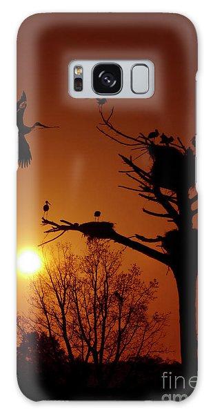 Stork Galaxy S8 Case - Storks by Carlos Caetano