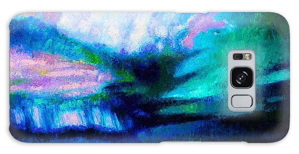 Strange Clouds Galaxy Case - Storm Chasing by John Lautermilch