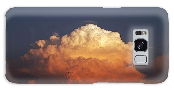 Storm Clouds At Sunset Galaxy Case