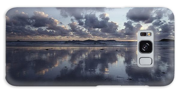 Wilsons Promontory Galaxy Case - Storm Clouds Over Tidal Flat by Jason Edwards