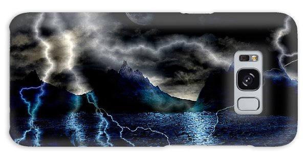Storm In The Blue Mountains Galaxy Case by Angel Jesus De la Fuente