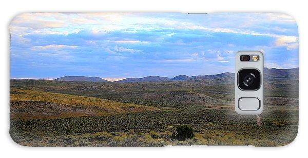 Stormy Wyoming Sunrise I Galaxy Case